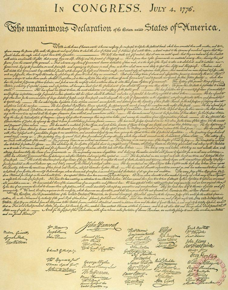 the issue of the absence of rights of the women and africans in the declaration of independence