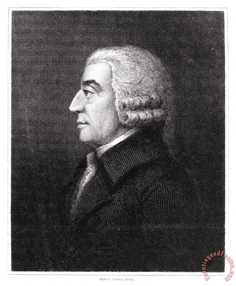 Adam Smith (1723-1790) painting - Others Adam Smith (1723-1790) Art Print