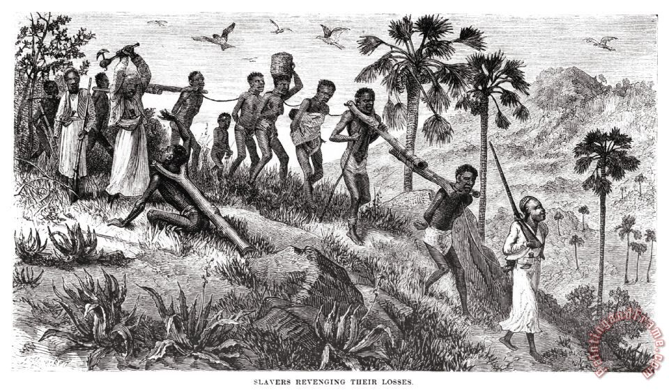 Others Africa Slave Trade Painting Africa Slave Trade