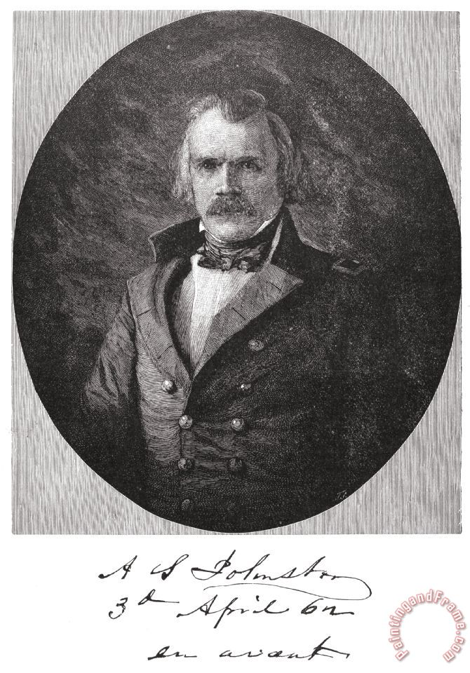 622aac21a7f Albert Sidney Johnston painting - Others Albert Sidney Johnston Art Print