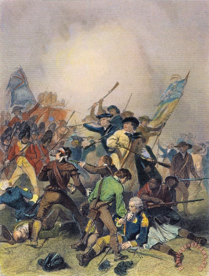 Image result for Bunker Hill painting