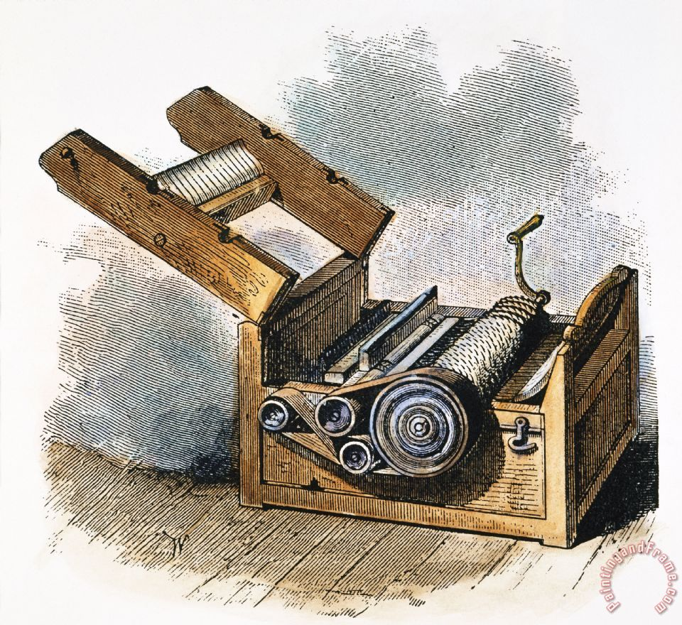 the cotton gin In general, the northern economy was very involved with slavery therefore, the  invention of the cotton gin did have an impact on the north the north provided.