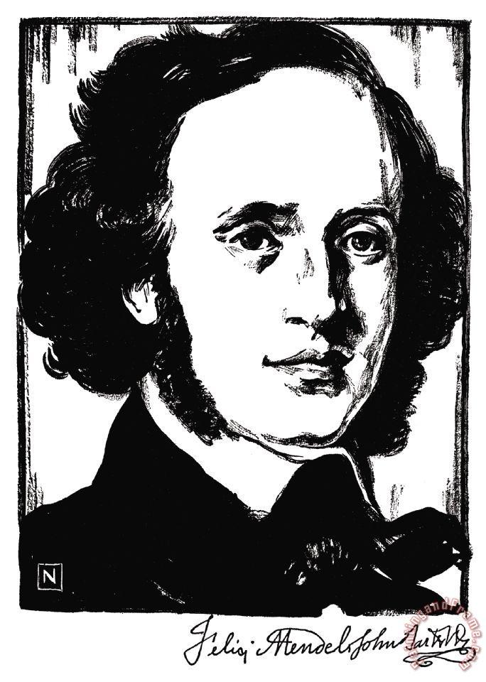 Mendelssohn painting - Felix Mendelssohn ...