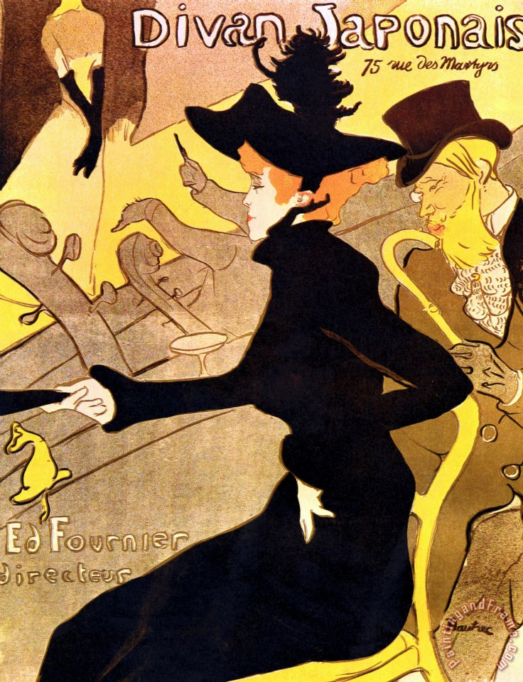 Others henri de toulouse lautrec 1864 1901 french painter for Divan in french