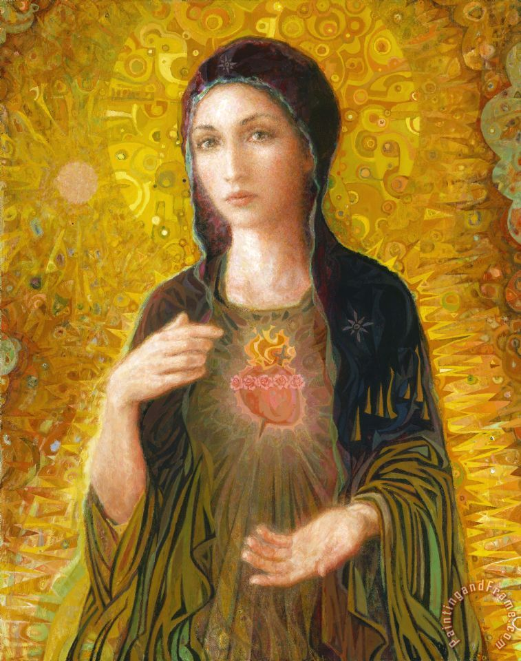 others immaculate heart of mary art painting for sale