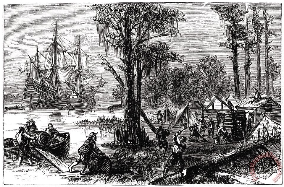 the reasons behind the deaths of the colonists in jamestown Early jamestown- why did so many one of the reasons people died in jamestown was caused by another reason the colonists died.