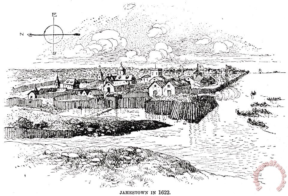 jamestown coloring pages - photo#32