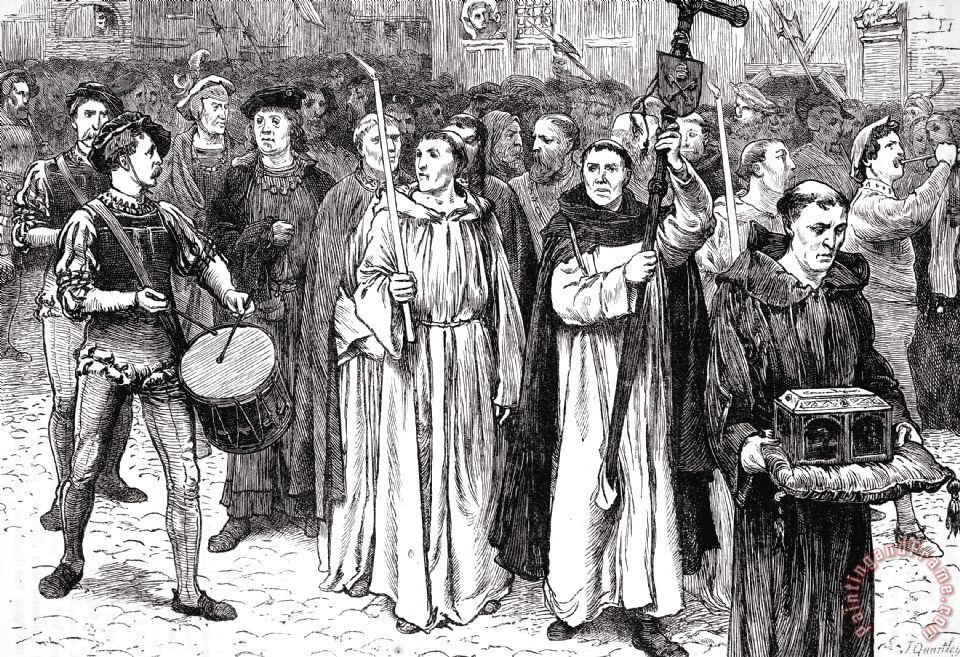 john tetzle Reformation efforts began 500 years ago priest martin luther openly criticized  the sale of indulgences by dominican monk john tetzel on october 31st, 1517,.