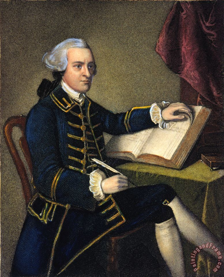 Others John Hancock (1737-1793) painting - John Hancock ...