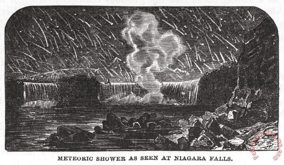 Leonid Meteor Shower 1833 Leonid Meteor Shower 1833