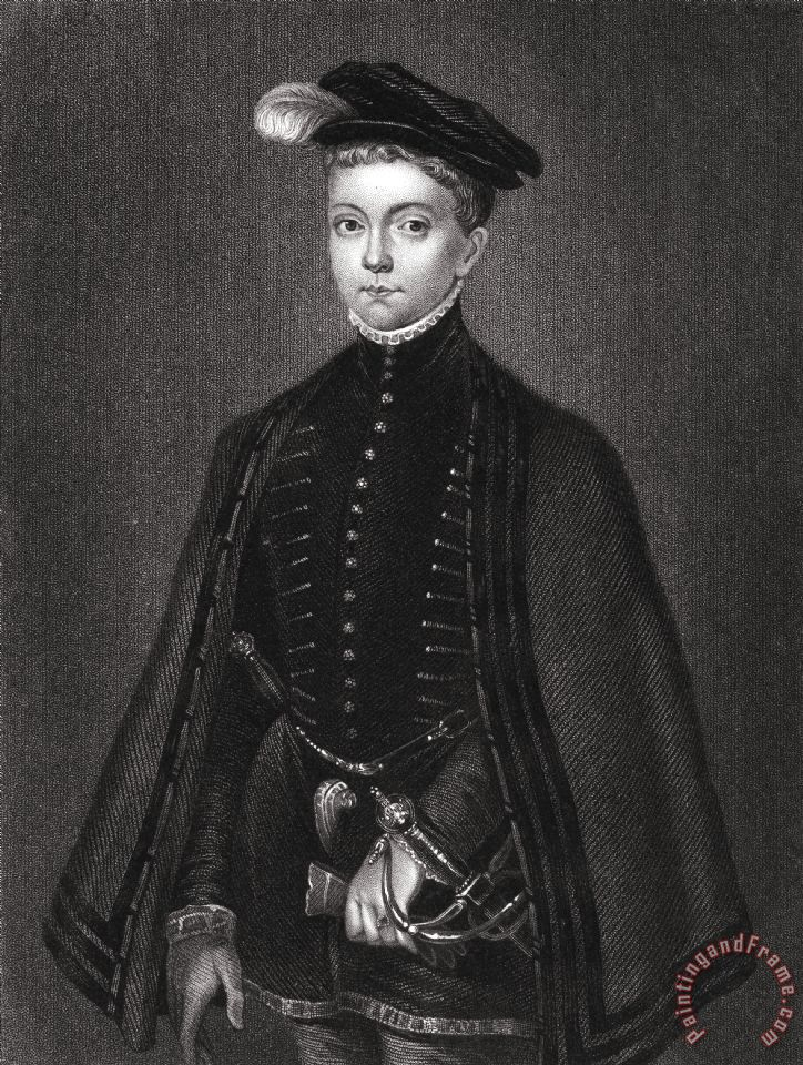 Others Lord Darnley (1545-1567) painting - Lord Darnley (1545-1567) print for sale