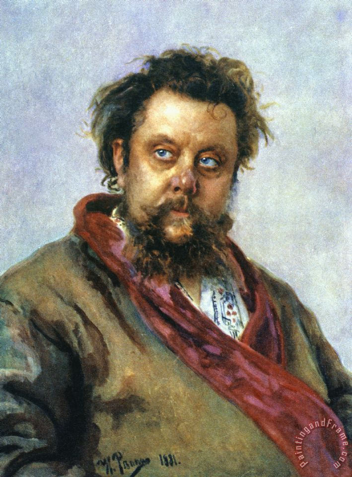 Others modest mussorgsky painting modest mussorgsky print for sale
