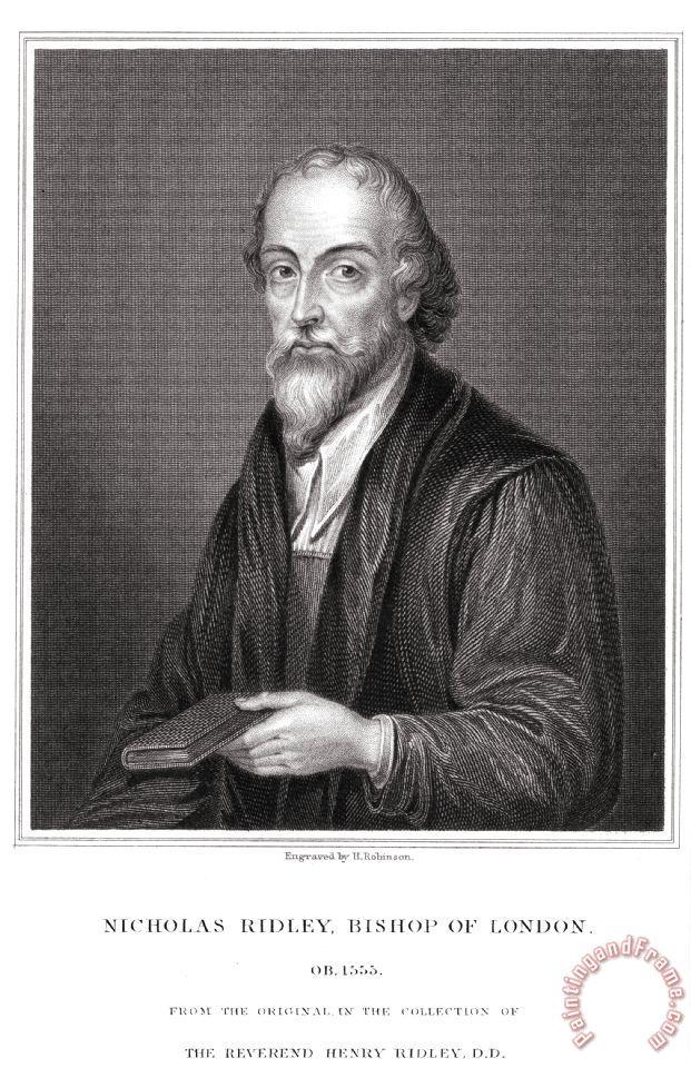 Others Nicholas Ridley (1500-1555) painting - Nicholas ...