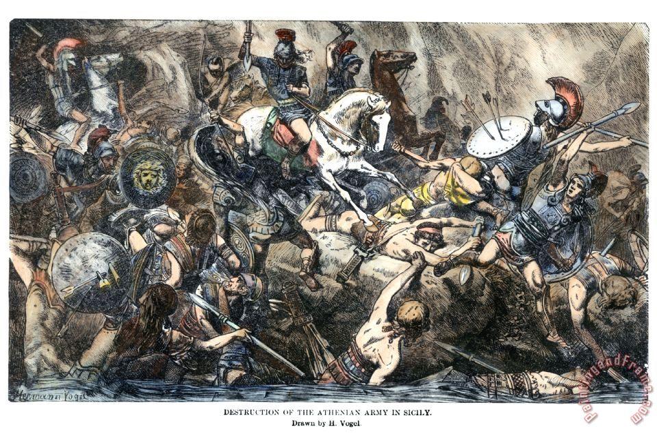 Famous Greek War Painting