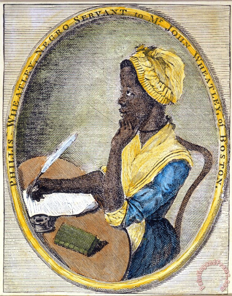 phillis wheatley Phillis wheatley: a colonial slave prodigy writes poetry.