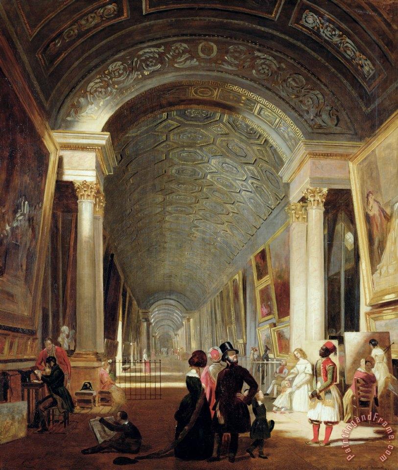 Louvre Paintings List