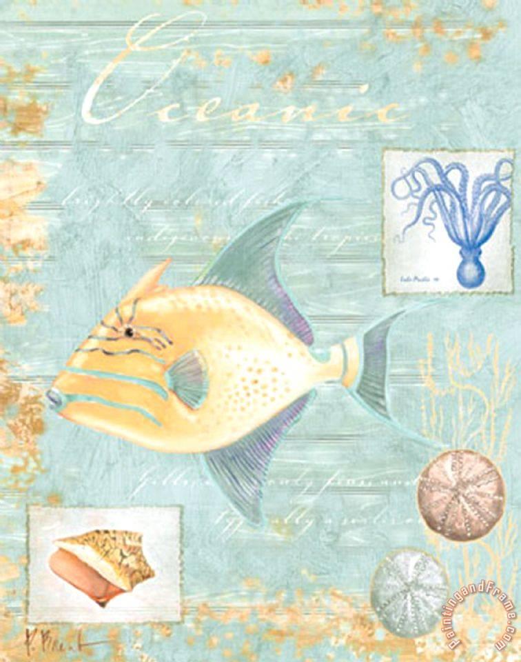 Paul brent oceanic painting oceanic print for sale - Cuadrostock ...