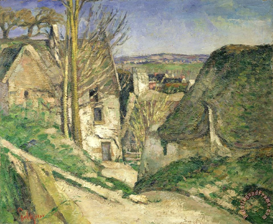 Paul Cezanne The House of The Hanged Man Auvers Sur Oise 1873 Art Painting