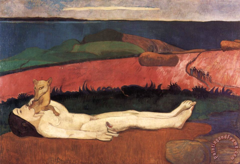 Gauguin the loss of virginity