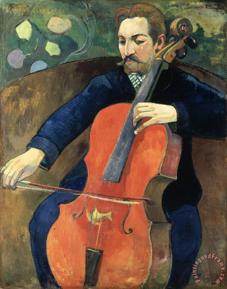 Upaupa Schneklud (the Player Schneklud) painting - Paul Gauguin Upaupa Schneklud (the Player Schneklud) Art Print