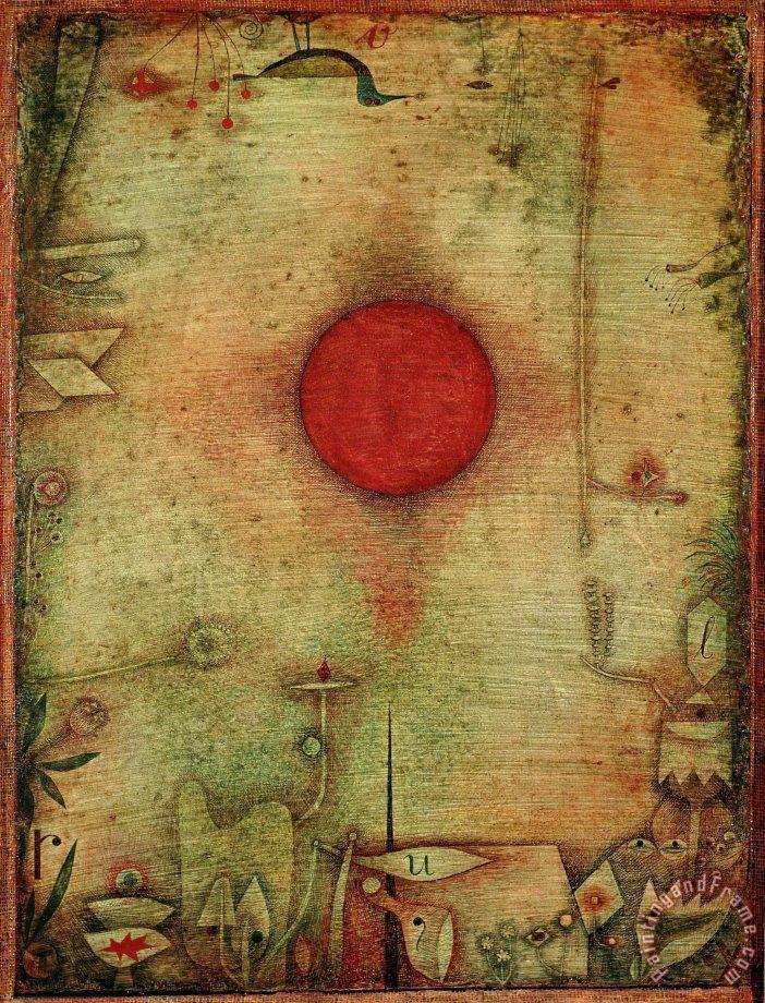Paul Klee Ad Marginem C 1930 Painting Ad Marginem C 1930