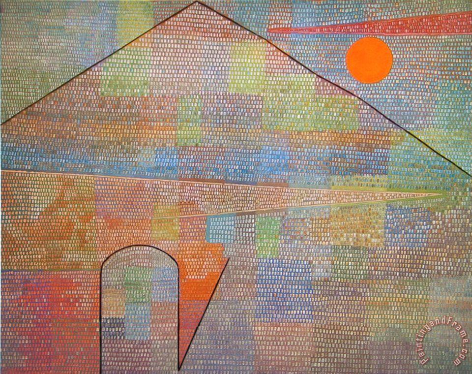Paul Klee Ad Parnassum 1932 Painting Ad Parnassum 1932