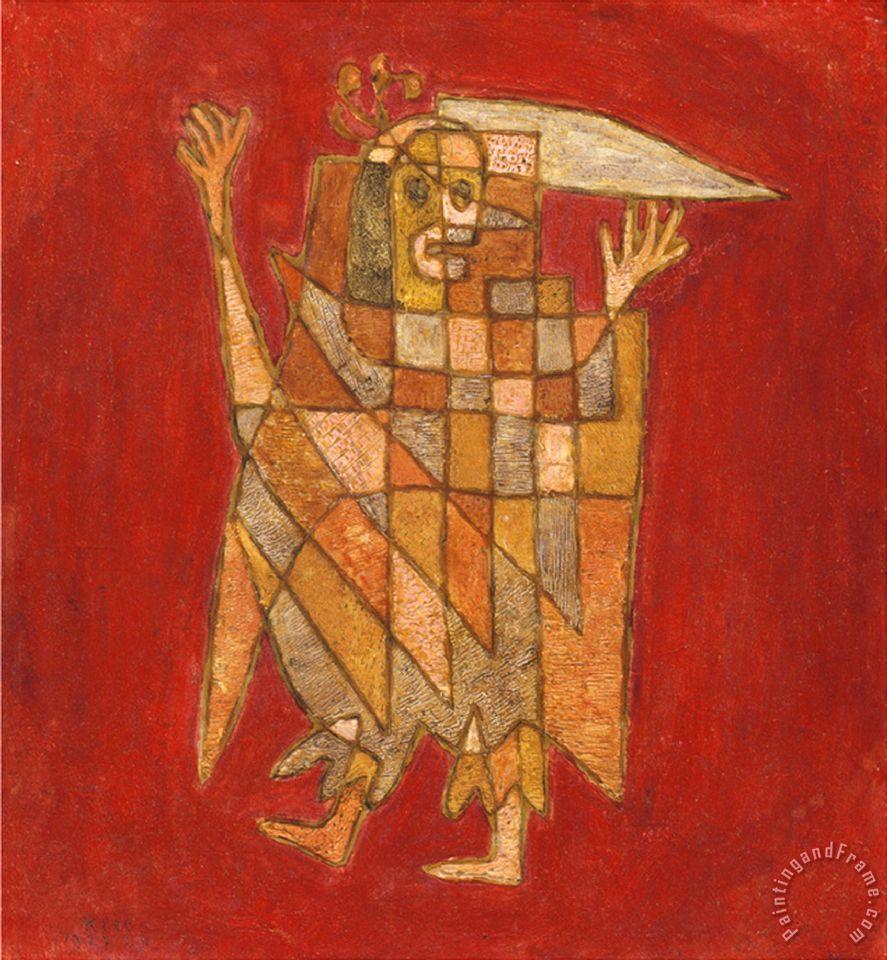 Paul Klee Allegorical Figure Allegorische Figurine