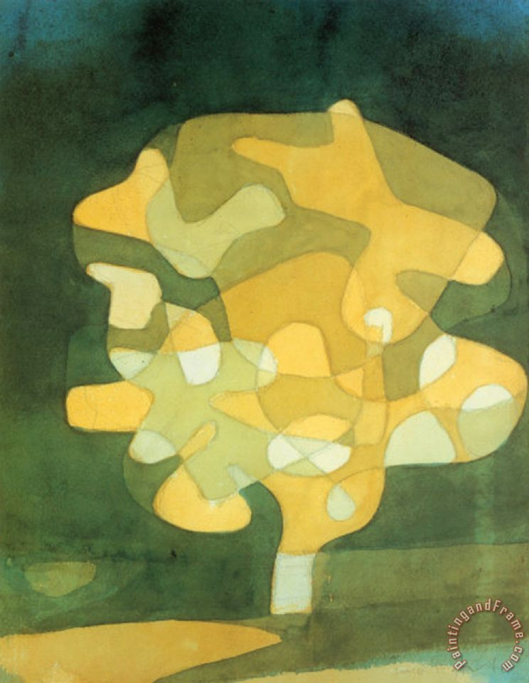 Paul Klee Fig Tree Painting Fig Tree Print For Sale