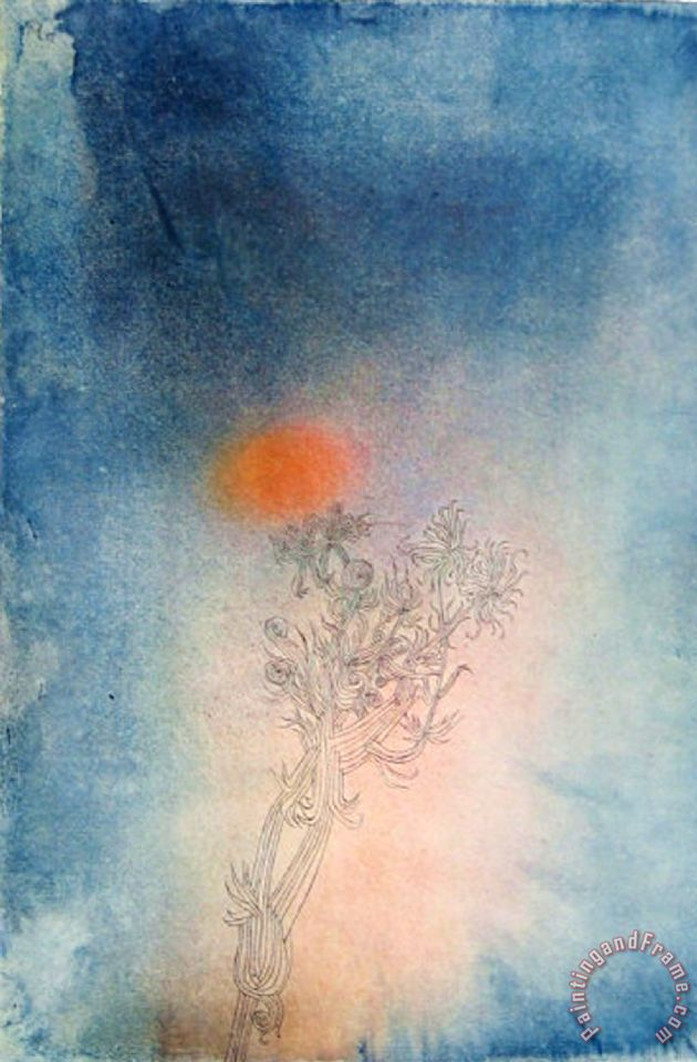 Paul Klee The Plant And Its Enemy Painting The Plant And
