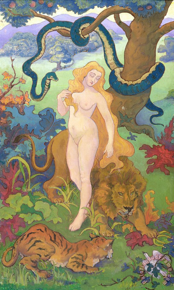 Eve painting - Paul Ranson Eve Art Print