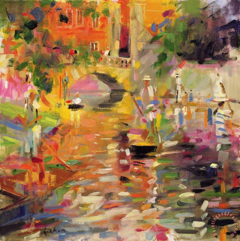 Peter Graham Summer Heat Art Painting For Sale