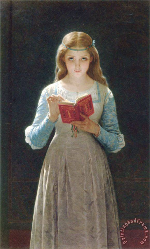 Pierre Auguste Cot Pause for Thought