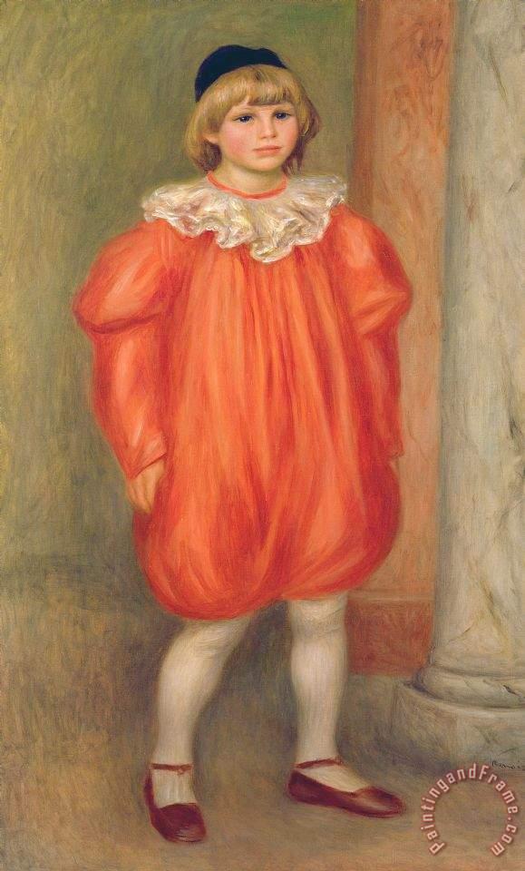 Pierre Auguste Renoir Claude Renoir