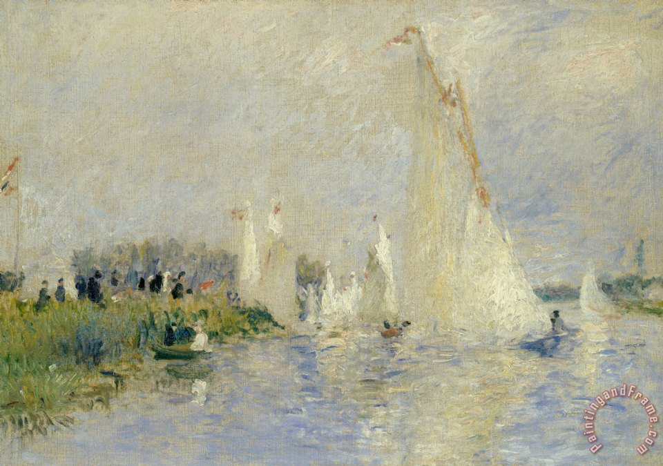Pierre Auguste Renoir Regatta At