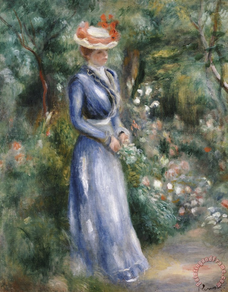 Pierre Auguste Renoir Woman in