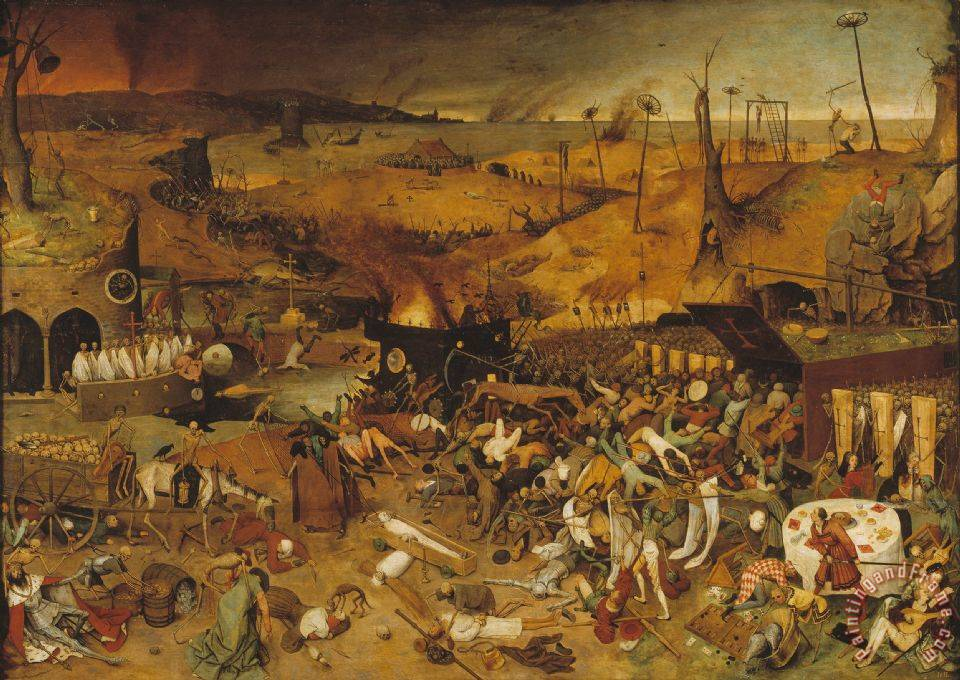 Pieter the Elder Bruegel The Triumph of Death Art Painting