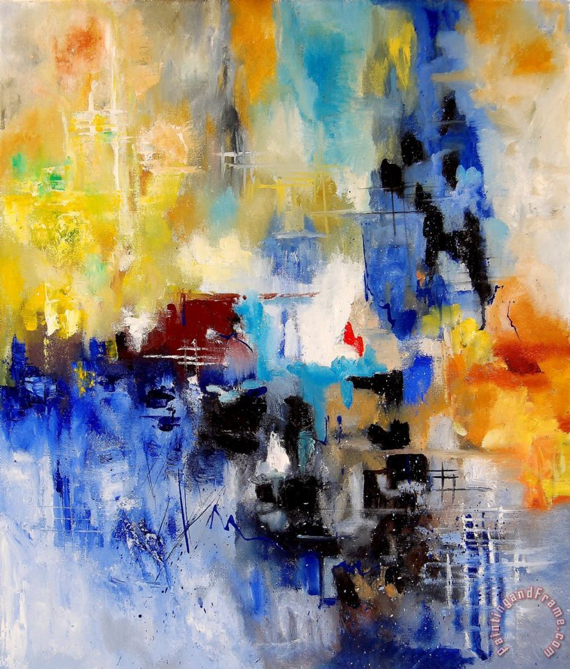 Pol ledent abstract 900003 painting abstract 900003 for Fine art paintings for sale online