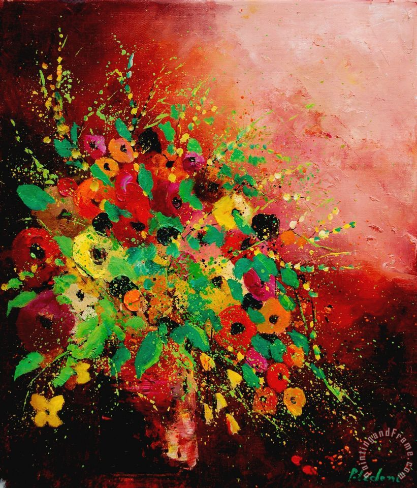 Pol ledent bunch of flowers 0507 painting bunch of flowers 0507 bunch of flowers 0507 painting pol ledent bunch of flowers 0507 art print izmirmasajfo