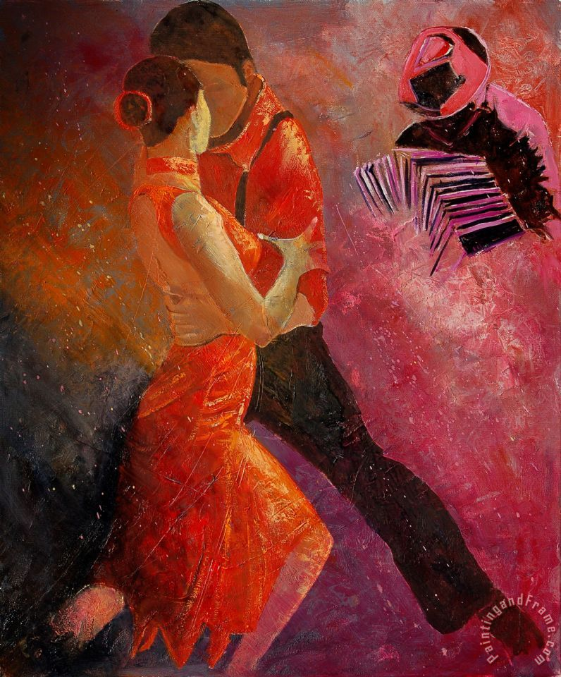 Pol ledent tango art painting for sale for Painting for sale by artist