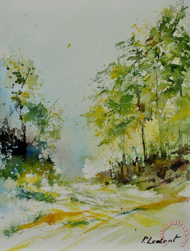 Pol ledent watercolor 010102 painting watercolor 010102 for Watercolor art prints for sale