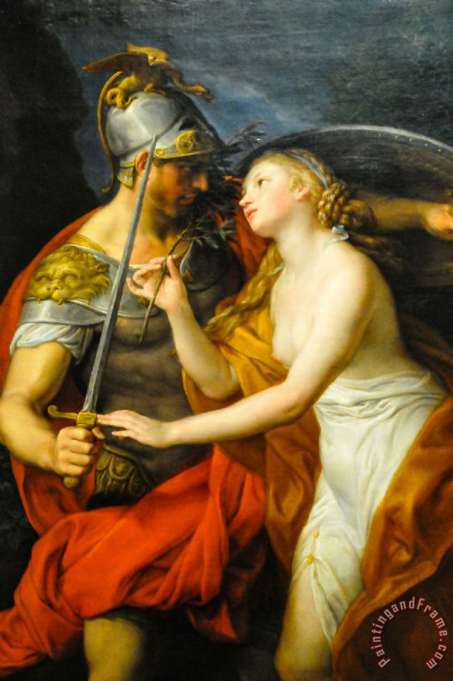 Allegory of Peace And War 1776 painting - Pompeo Girolamo Batoni Allegory of Peace And War 1776 Art Print
