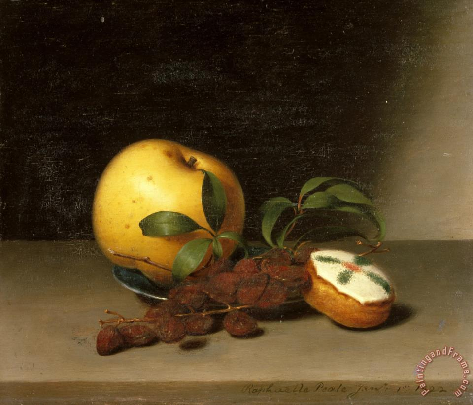 Still Life with Cake painting - Raphaelle Peale Still Life with Cake Art Print