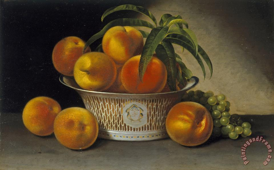 Still Life with Peaches painting - Raphaelle Peale Still Life with Peaches Art Print