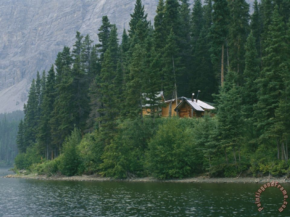 Raymond gehman a traditional hunting and fishing lodge for Fishing lodge for sale
