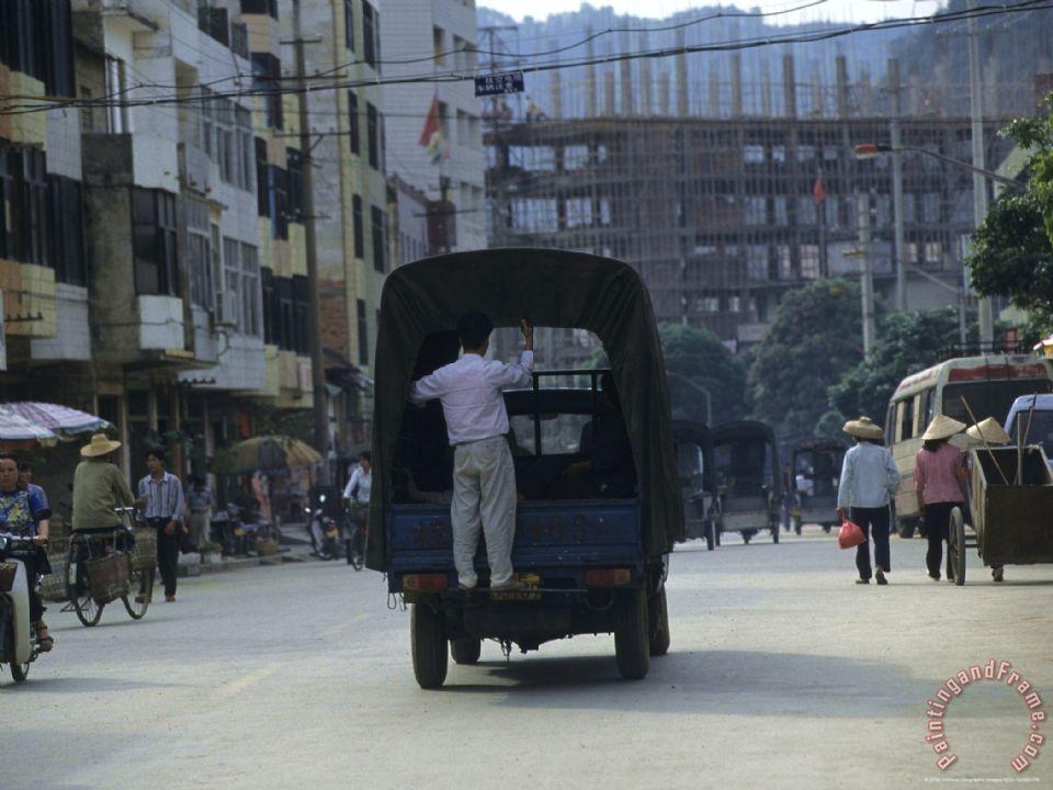 Pingxiang China  City pictures : ... China painting Downtown Pingxiang Guangxi Autonomous Region China