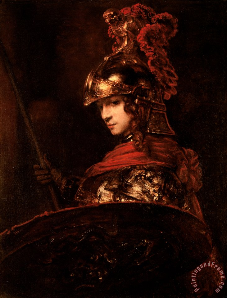pallas athena painting -#main