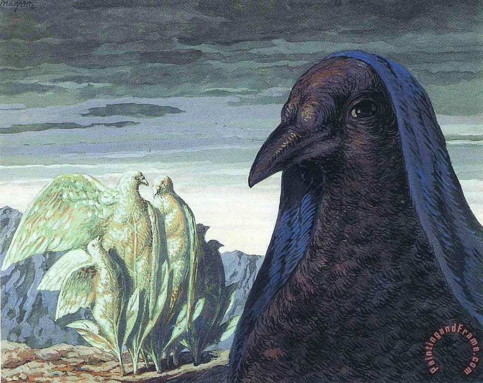 rene magritte Prince Charming 1948 1 painting - Prince ... - photo#27