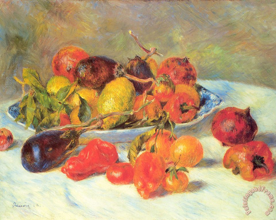 Renoir Fruits Of The Midi painting