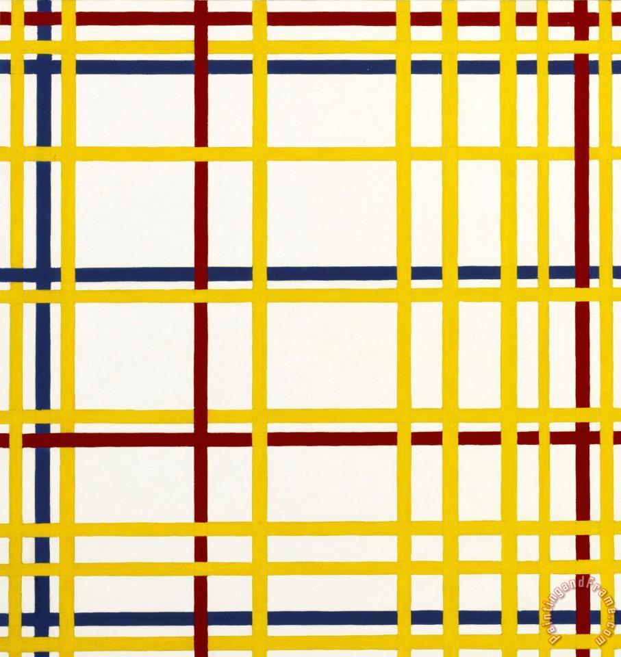 Richard Pettibone Piet Mondrian, \