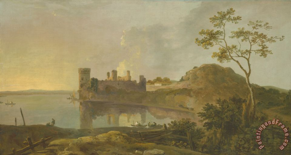 Summer Evening painting - Richard Wilson Summer Evening Art Print